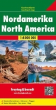 , Nordamerika, Kontinentkarte 1:8 000 000