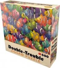 Tff-028514 , Puzzel double trouble- clownfish- cheatwell- 500 stuks- 35x49 cm