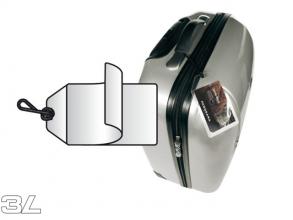 , Label bagage 3L 11120 72x123mm 10 stuks