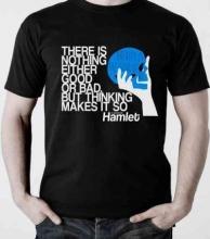 Hamlet T-shirt, Small