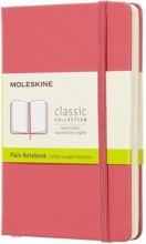 , Moleskine Notebook Pocket Plain Hard Cover Daisy Pink