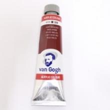 , Talens van gogh acrylverf tube 40 ml engelsrood 339