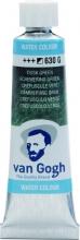 , Talens van gogh aquarelverf tube 10 ml schemering groen 630