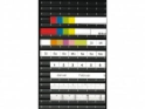 , Magneetstrip Legamaster 10x300mm zwart
