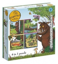 Bat-19021 , Gruffalo 4 in 1 puzzel (4+6+9+16)