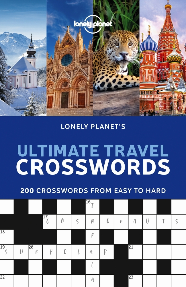 lonely planet,Lonely Planet`s Ultimate Travel Crosswords