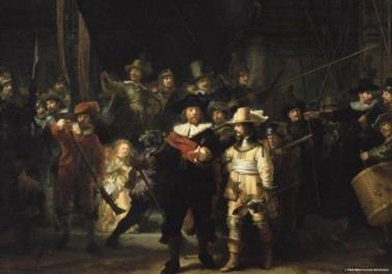 Puz-384,De nachtwacht -  rembrandt - puzzel -  de puzzelman - 1000 - rijksmuseum