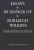 , Essays in Honor of Burleigh Wilkins