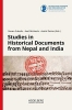 , Studies in Historical Documents from Nepal and India