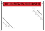 , paklijstenvelop binnenmaat 225x122mm DL 50 micron documents enclosed 1000 stuks