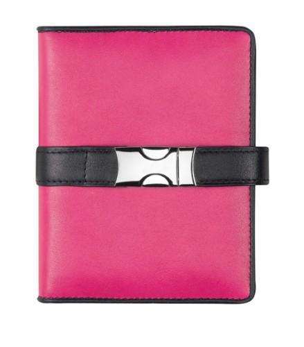 Pm212dk23,Succes omslag mini deluxe kyoto roze 15 mm ring