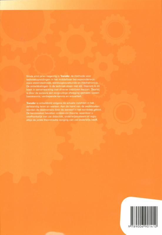 J.G. Verhaar,Tr@nsfer-w Tekenen/Construeren Leerwerkboek