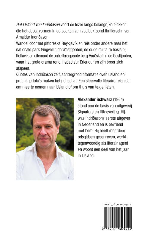 Alexander Schwarz,Het IJsland van Indridason