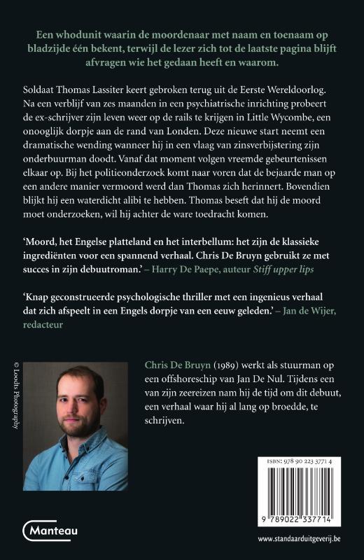 Chris De Bruyn,Een onschuldige moord