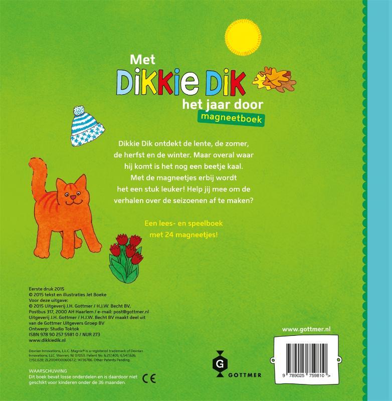 Jet Boeke,Met Dikkie Dik het jaar door