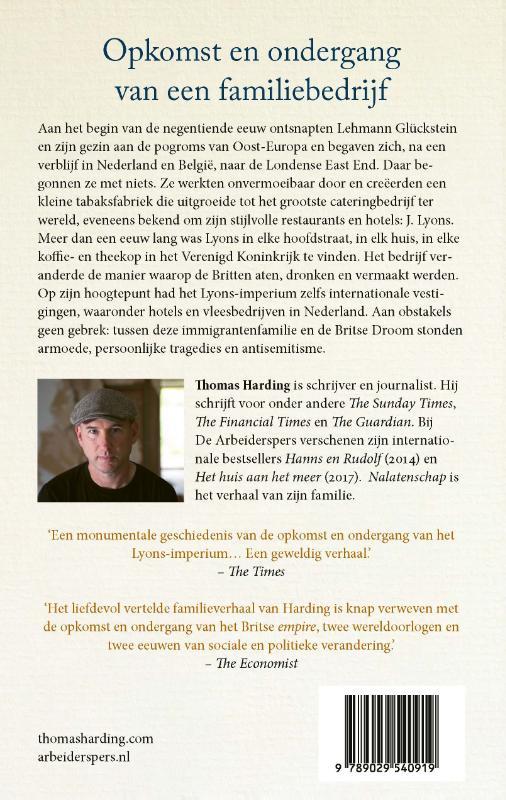 Thomas Harding,Nalatenschap