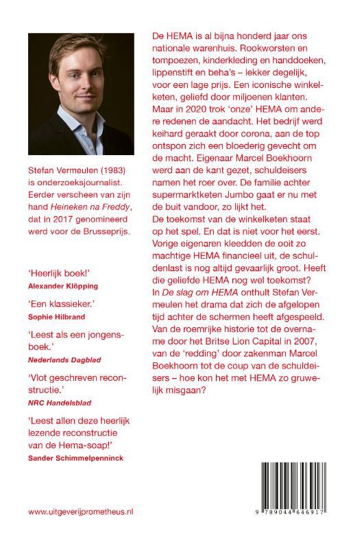 Stefan Vermeulen,De slag om HEMA