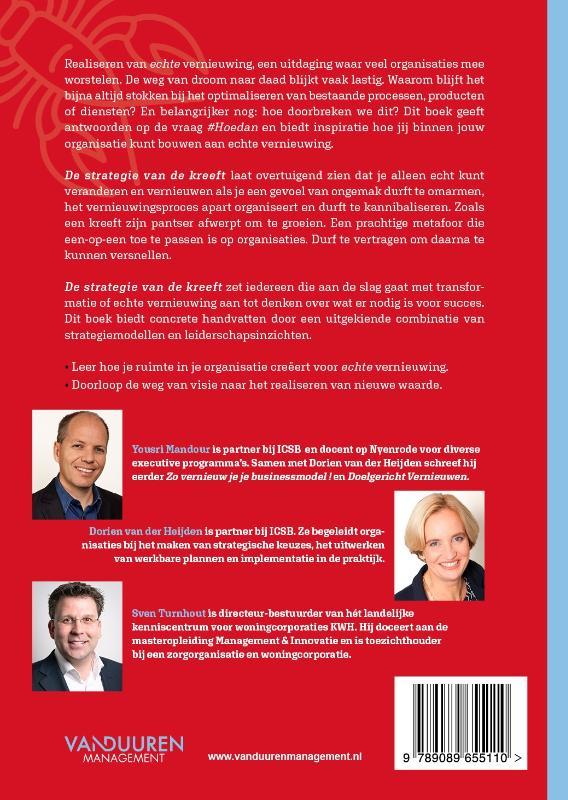 Yousri Mandour, Dorien van der Heiden, Sven Turnhout,De strategie van de kreeft