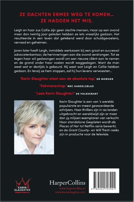 Karin Slaugther,Valse getuige