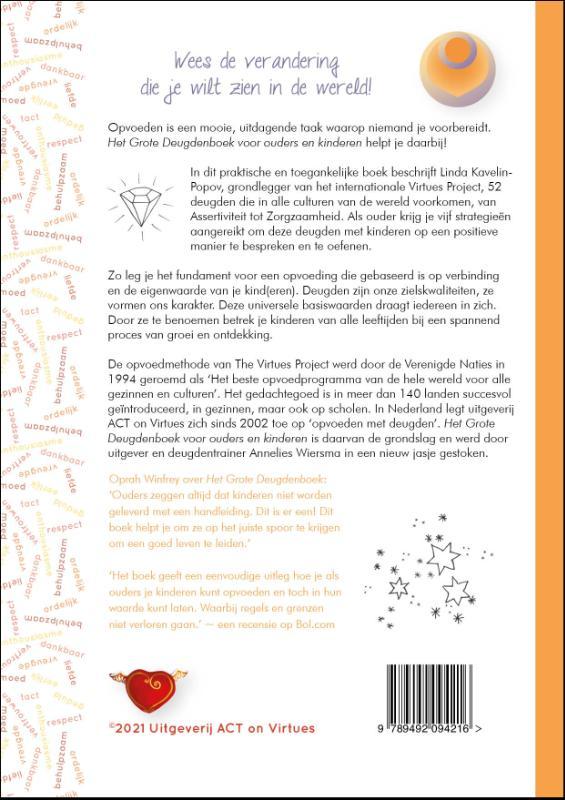 Linda Kavelin Popov,Het Grote Deugdenboek voor ouders en kinderen