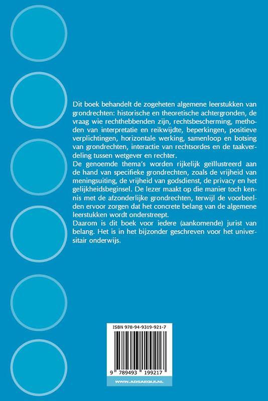 Aernout Nieuwenhuis, Maarten den Heijer,Hoofdstukken grondrechten