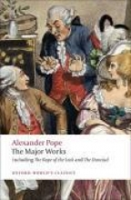 Alexander Pope,   Pat (DeBartolo Professor in the Liberal Arts, University of South Florida) Rogers The Major Works