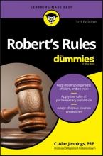 Jennings, C. Alan Robert`s Rules for Dummies