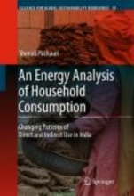 Pachauri, Shonali An Energy Analysis of Household Consumption