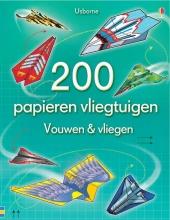 , 200 Papieren vliegtuigen-vouwen en vliegen
