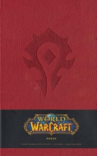 World Of Warcraft Horde Hardcover Blank Journal
