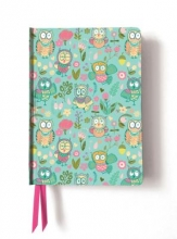 Cute Owls (Contemporary Foiled Journal)