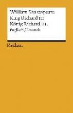 Shakespeare, William King Richard III
