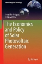 Mir-Artigues, Pere The Economics and Policy of Solar Photovoltaic Generation
