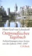 Lehndorff, Hans Graf von Ostpreuisches Tagebuch