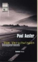 Auster, Paul Vom Verschwinden. Disappearances