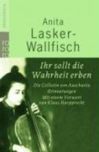 Lasker-Wallfisch, Anita Ihr sollt die Wahrheit erben. Grodruck