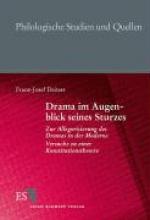 Deiters, Franz-Josef Drama im Augenblick seines Sturzes
