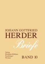 Johann Gottfried Herder. Briefe 10