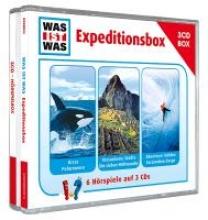 Baur, Manfred WAS IST WAS 3-CD-Hrspielbox
