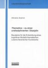 Scarinzi, Alfonsina Thematics - zu einer undisziplinierten Disziplin