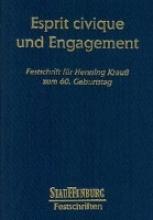 Esprit civique und Engagement.
