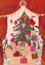 Silke Leffler, Adventskalender Weihnachtsvorhang