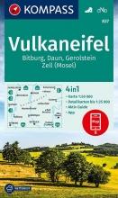 KOMPASS-Karten GmbH , KOMPASS Wanderkarte Vulkaneifel, Bitburg, Daun, Gerolstein, Zell (Mosel)