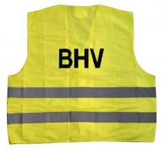 , Veiligheidsvest BHV geel