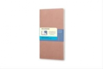 Moleskine Moleskine Chapter-Notizheft Slim Pocket Punktraster, Altrosa