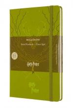 , Moleskine LE Notitieboek Harry Potter Large (13x21 cm) Gelinieerd Light Green
