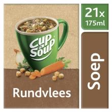 , Cup-a-soup rundvleessoep 21 zakjes