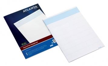 , Opzichtersdagboek Atlanta 294x207mm 20vel