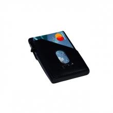 , Kaarthouder Tony Perotti Slim Furbo RFID leer blauw