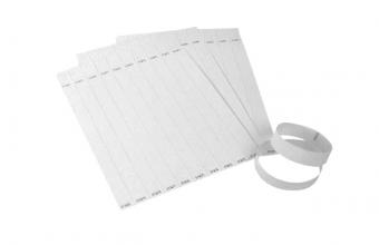 , Tekststempel Colop E-Mark polsbandjes 19mm x 250mm 100st